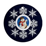 snowman1 - Ornament (Round)