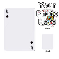 Asdf By Steve Choi   Playing Cards 54 Designs   Fr7r7b8q0eec   Www Artscow Com Front - Spade4