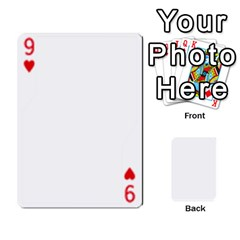 Asdf By Steve Choi   Playing Cards 54 Designs   Fr7r7b8q0eec   Www Artscow Com Front - Heart9