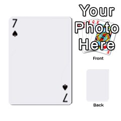 Asdf By Steve Choi   Playing Cards 54 Designs   Fr7r7b8q0eec   Www Artscow Com Front - Spade7