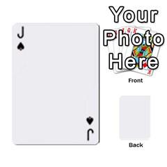 Jack Asdf By Steve Choi   Playing Cards 54 Designs   Fr7r7b8q0eec   Www Artscow Com Front - SpadeJ