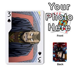 Kaiji Deck By Andrew Jones   Playing Cards 54 Designs   R1kc5l4fx1o1   Www Artscow Com Front - Spade3
