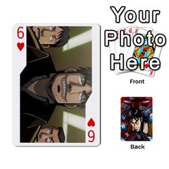 Kaiji Deck By Andrew Jones   Playing Cards 54 Designs   R1kc5l4fx1o1   Www Artscow Com Front - Heart6