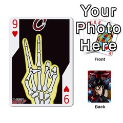 Kaiji Deck By Andrew Jones   Playing Cards 54 Designs   R1kc5l4fx1o1   Www Artscow Com Front - Heart9