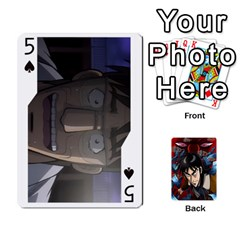 Kaiji Deck By Andrew Jones   Playing Cards 54 Designs   R1kc5l4fx1o1   Www Artscow Com Front - Spade5