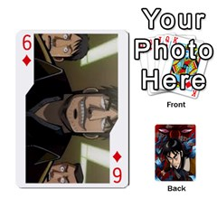 Kaiji Deck By Andrew Jones   Playing Cards 54 Designs   R1kc5l4fx1o1   Www Artscow Com Front - Diamond6