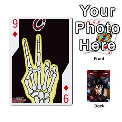 Kaiji Deck By Andrew Jones   Playing Cards 54 Designs   R1kc5l4fx1o1   Www Artscow Com Front - Diamond9