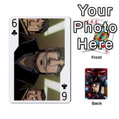 Kaiji Deck By Andrew Jones   Playing Cards 54 Designs   R1kc5l4fx1o1   Www Artscow Com Front - Club6