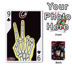 Kaiji Deck By Andrew Jones   Playing Cards 54 Designs   R1kc5l4fx1o1   Www Artscow Com Front - Club9
