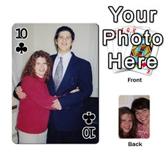 Laura And Bill   Finished By Edie Zilio   Playing Cards 54 Designs   Smervpv44b9m   Www Artscow Com Front - Club10