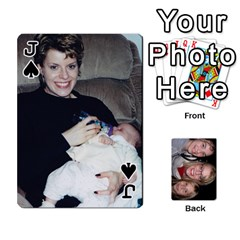 Jack Aunt Jen Final By Edie Zilio   Playing Cards 54 Designs   Lsf380r7ufbb   Www Artscow Com Front - SpadeJ