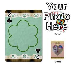 Elegant 54 Card Design By Deborah   Playing Cards 54 Designs   7wzowto6mw5f   Www Artscow Com Front - Club2