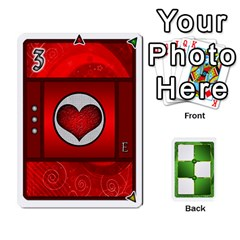 Piecepack Card Suit Ace To King By Melody   Playing Cards 54 Designs   Qx7cp4yv2lry   Www Artscow Com Front - Spade4