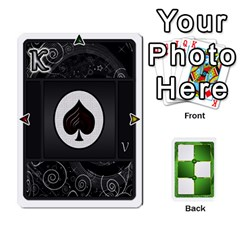 Ace Piecepack Card Suit Ace To King By Melody   Playing Cards 54 Designs   Qx7cp4yv2lry   Www Artscow Com Front - HeartA