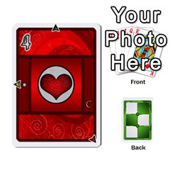Piecepack Card Suit Ace To King By Melody   Playing Cards 54 Designs   Qx7cp4yv2lry   Www Artscow Com Front - Spade5