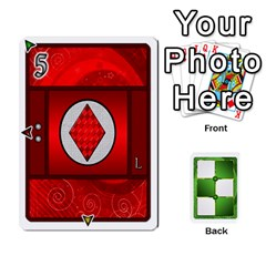 Piecepack Card Suit Ace To King By Melody   Playing Cards 54 Designs   Qx7cp4yv2lry   Www Artscow Com Front - Diamond6