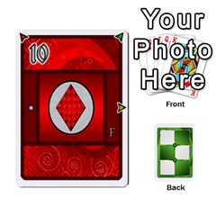 Jack Piecepack Card Suit Ace To King By Melody   Playing Cards 54 Designs   Qx7cp4yv2lry   Www Artscow Com Front - DiamondJ