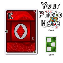Ace Piecepack Card Suit Ace To King By Melody   Playing Cards 54 Designs   Qx7cp4yv2lry   Www Artscow Com Front - DiamondA