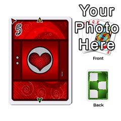 Piecepack Card Suit Ace To King By Melody   Playing Cards 54 Designs   Qx7cp4yv2lry   Www Artscow Com Front - Spade6