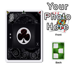 Piecepack Card Suit Ace To King By Melody   Playing Cards 54 Designs   Qx7cp4yv2lry   Www Artscow Com Front - Club6