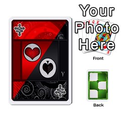 Piecepack Card Suit Ace To King By Melody   Playing Cards 54 Designs   Qx7cp4yv2lry   Www Artscow Com Front - Joker1
