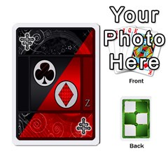 Piecepack Card Suit Ace To King By Melody   Playing Cards 54 Designs   Qx7cp4yv2lry   Www Artscow Com Front - Joker2