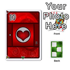 Jack Piecepack Card Suit Ace To King By Melody   Playing Cards 54 Designs   Qx7cp4yv2lry   Www Artscow Com Front - SpadeJ