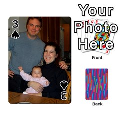 Photo Playing Cards By Lou Fazio   Playing Cards 54 Designs   Sfa42x0eei98   Www Artscow Com Front - Spade3