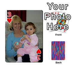 Photo Playing Cards By Lou Fazio   Playing Cards 54 Designs   Sfa42x0eei98   Www Artscow Com Front - Heart3