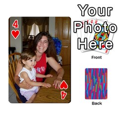 Photo Playing Cards By Lou Fazio   Playing Cards 54 Designs   Sfa42x0eei98   Www Artscow Com Front - Heart4