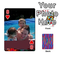 Photo Playing Cards By Lou Fazio   Playing Cards 54 Designs   Sfa42x0eei98   Www Artscow Com Front - Heart8