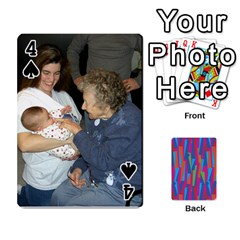 Photo Playing Cards By Lou Fazio   Playing Cards 54 Designs   Sfa42x0eei98   Www Artscow Com Front - Spade4