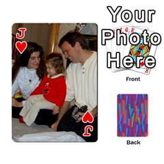 Jack Photo Playing Cards By Lou Fazio   Playing Cards 54 Designs   Sfa42x0eei98   Www Artscow Com Front - HeartJ