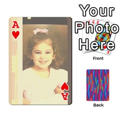Ace Photo Playing Cards By Lou Fazio   Playing Cards 54 Designs   Sfa42x0eei98   Www Artscow Com Front - HeartA