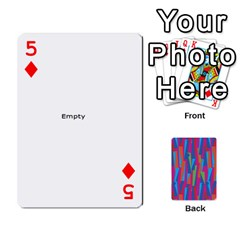 Photo Playing Cards By Lou Fazio   Playing Cards 54 Designs   Sfa42x0eei98   Www Artscow Com Front - Diamond5