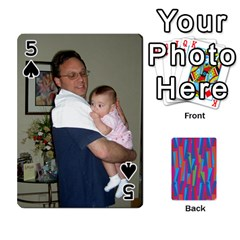 Photo Playing Cards By Lou Fazio   Playing Cards 54 Designs   Sfa42x0eei98   Www Artscow Com Front - Spade5
