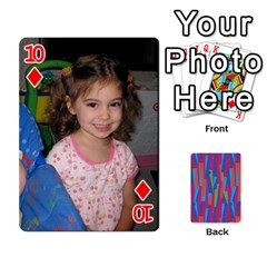 Photo Playing Cards By Lou Fazio   Playing Cards 54 Designs   Sfa42x0eei98   Www Artscow Com Front - Diamond10
