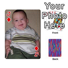 Jack Photo Playing Cards By Lou Fazio   Playing Cards 54 Designs   Sfa42x0eei98   Www Artscow Com Front - DiamondJ