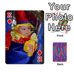 King Photo Playing Cards By Lou Fazio   Playing Cards 54 Designs   Sfa42x0eei98   Www Artscow Com Front - DiamondK