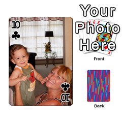 Photo Playing Cards By Lou Fazio   Playing Cards 54 Designs   Sfa42x0eei98   Www Artscow Com Front - Club10