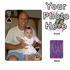 Photo Playing Cards By Lou Fazio   Playing Cards 54 Designs   Sfa42x0eei98   Www Artscow Com Front - Spade7