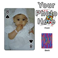 Photo Playing Cards By Lou Fazio   Playing Cards 54 Designs   Sfa42x0eei98   Www Artscow Com Front - Spade8
