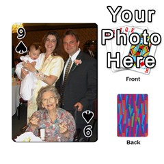 Photo Playing Cards By Lou Fazio   Playing Cards 54 Designs   Sfa42x0eei98   Www Artscow Com Front - Spade9