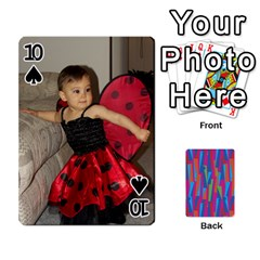 Photo Playing Cards By Lou Fazio   Playing Cards 54 Designs   Sfa42x0eei98   Www Artscow Com Front - Spade10