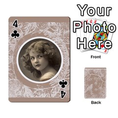 Mocha Batik 54 Design Cards By Catvinnat   Playing Cards 54 Designs   D7u7xyo8jrmu   Www Artscow Com Front - Club4