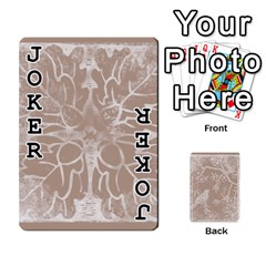 Mocha Batik 54 Design Cards By Catvinnat   Playing Cards 54 Designs   D7u7xyo8jrmu   Www Artscow Com Front - Joker1