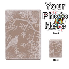 Mocha Batik 54 Design Cards By Catvinnat   Playing Cards 54 Designs   D7u7xyo8jrmu   Www Artscow Com Back