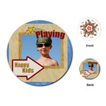 play kids - Playing Cards (Round)