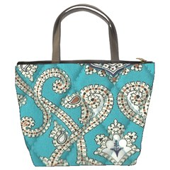 Peacock Bucket Bag By Eleanor Norsworthy   Bucket Bag   3l5fvko32bpo   Www Artscow Com Back