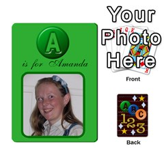 Learning Cards By Charis Balyeat   Playing Cards 54 Designs   05tm267a9p9z   Www Artscow Com Front - Spade2